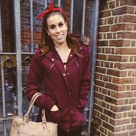 red jacket christina cimorelli