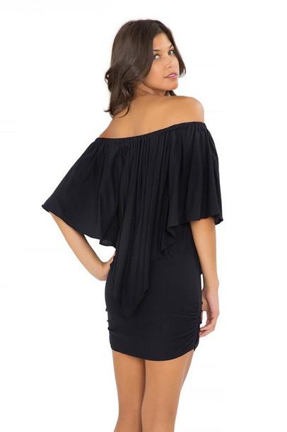 dress black luli fama little black dress bikiniluxe