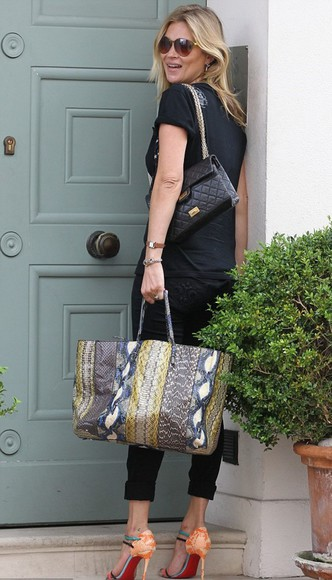 kate moss bag shoes sandals