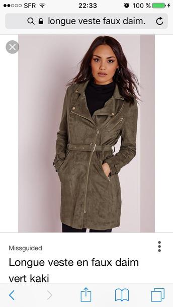 coat suede