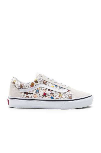 VANS cream shoes