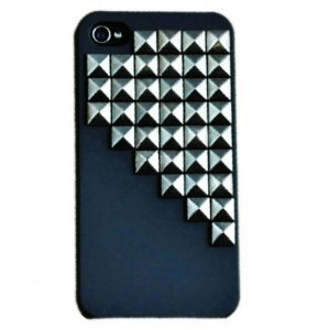 Amazon.com: sodial(tm) fashion pyramid punk spike stud mobile phone case for iphone 5 cover with pyramid rivet: cell phones & accessories