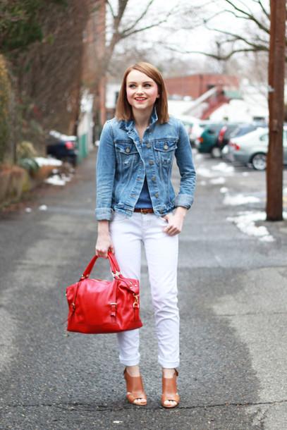 poor little it girl t-shirt jeans jacket shoes bag jewels