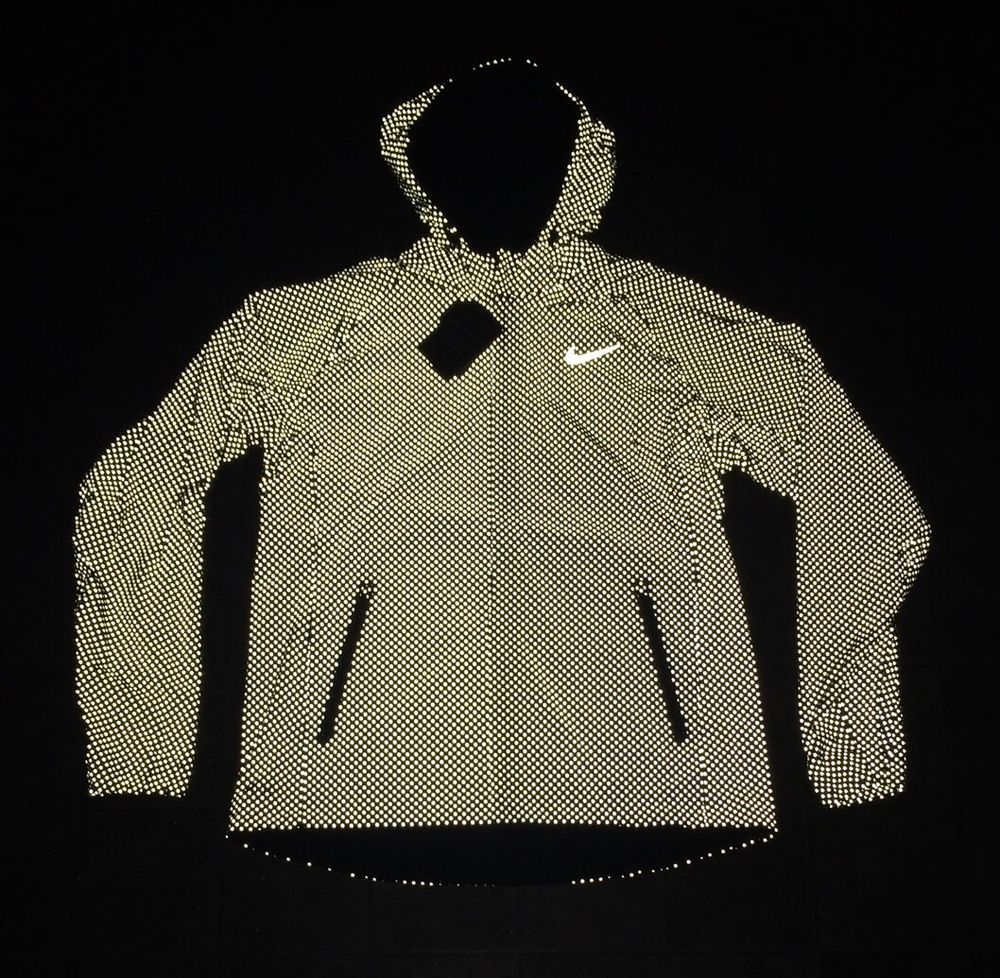 half off 49a61 7c956 NWT  495 Nike Shield Flash Max Running 2XL Jacket 619422-010 RARE 3M NikeLab