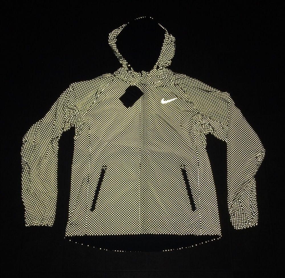 Nike jacket flash - Nwt 495 Nike Shield Flash Max Running 2xl Jacket 619422 010 Rare 3m Nikelab