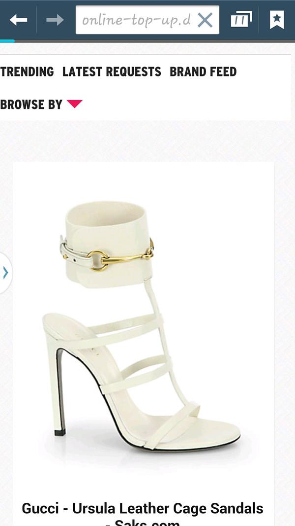 2a5b6e97fd7e Gucci  Ursula  Gladiator Sandal