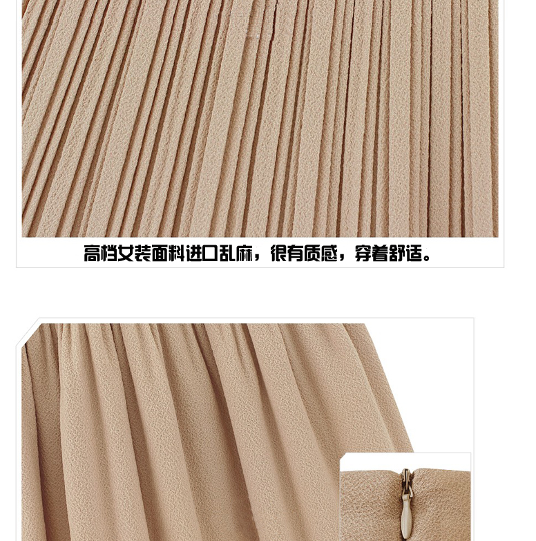 PhD Retro Lady Pleated Chiffon High Waist Mini Skirt Short Dress Double Layer | eBay