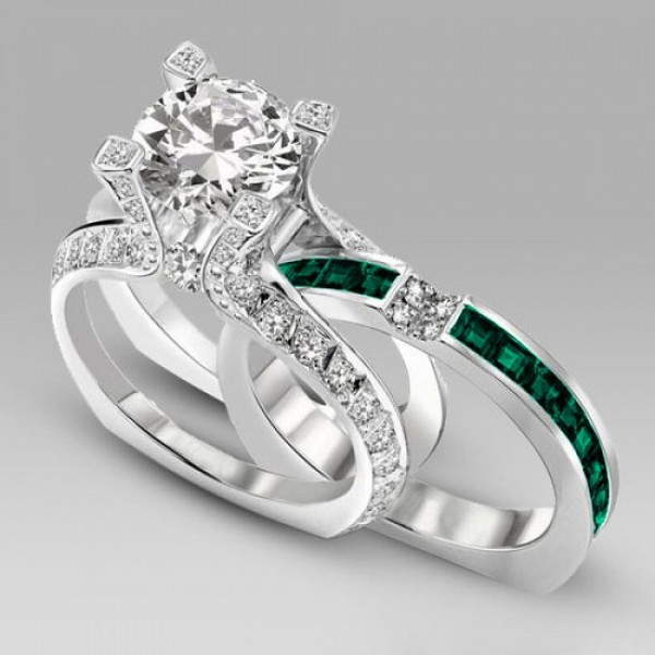 Jewels Two In One Engagement Ring Evolees Com Fashion