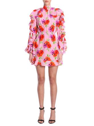 dress short dress short print