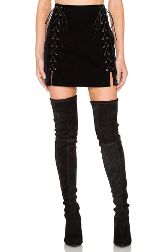 skirt mini skirt mini lace black