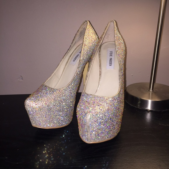 8f38e3d6ccd 29% off Steve Madden Shoes - Sparkle Heels by Steve Madden from ...
