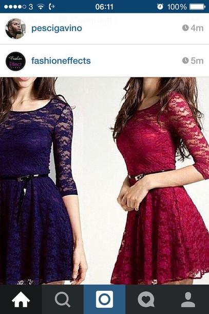 skirt lace dress
