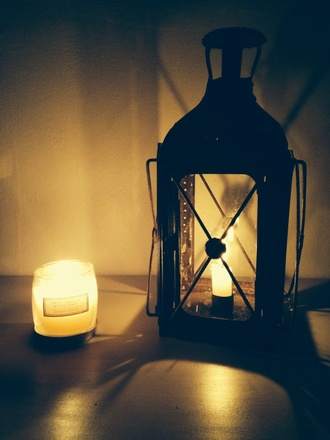 jewels candle vintage light