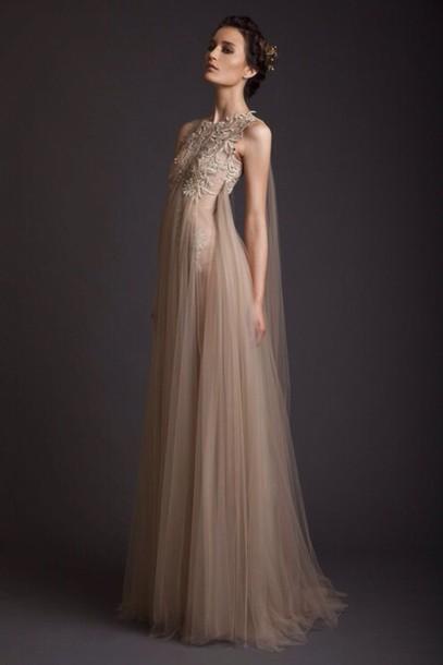 dress champanghe boho dress amazing a-line prom dress long dress prom dress dream dress antique prom dress prom prom gown maxi dress lace dress ineedthese
