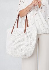 bag,tote bag,vegan leather,vegan leather bag,vegan bag,boho,boho bag,beach bag,on the go bag,bucket bag,bucket tote,white bag,summer,beach,bohemian,raffia bag