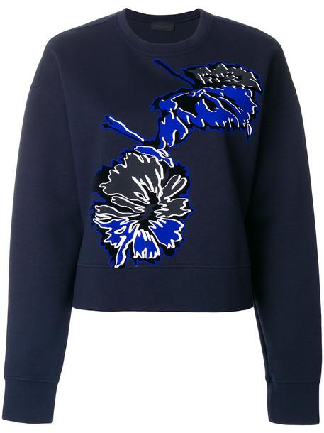 Diesel Black Gold jumper women spandex cotton blue sweater