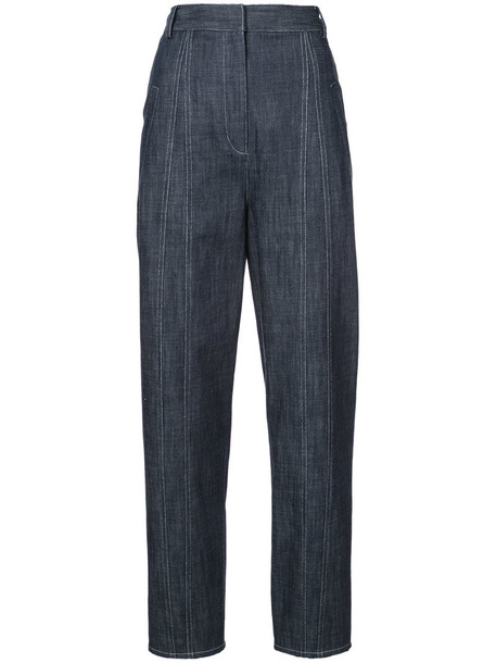 Tibi jeans women cotton blue