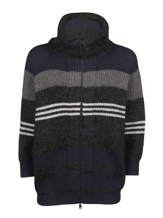 cardigan blue grey sweater