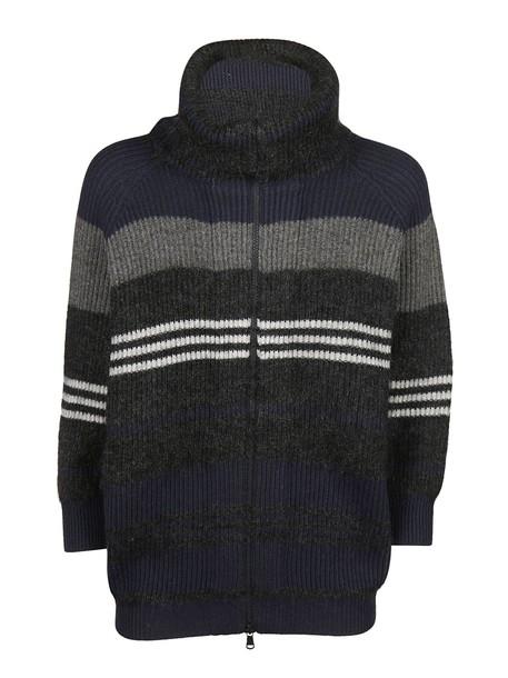 BRUNELLO CUCINELLI cardigan cardigan blue grey sweater