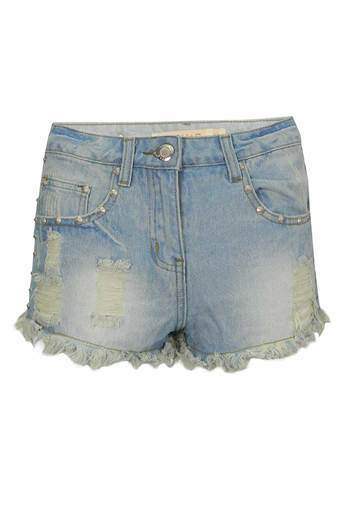 Ladies Marianne Studded Shorts | Pop Couture