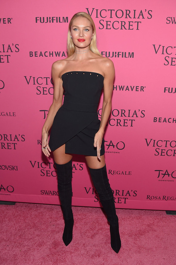 How To Make A Book Cover Out Of A Victoria S Secret Bag : Dress strapless black mini model candice