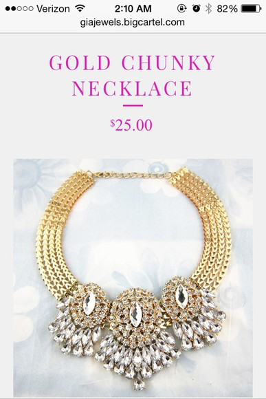 jewels necklace gold hair accessories