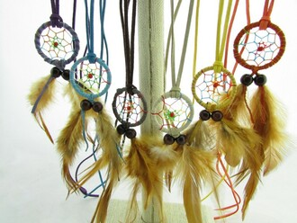 jewels dreamcatcher necklace feathers studds leggings dreamcatcher