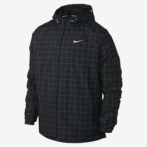 Nike Checkered Flash Men's Running Jacket 596250 010 New