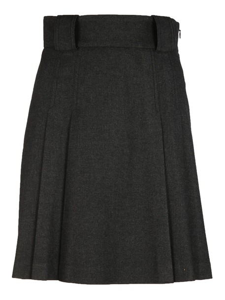 RED VALENTINO skirt pleated skirt pleated high