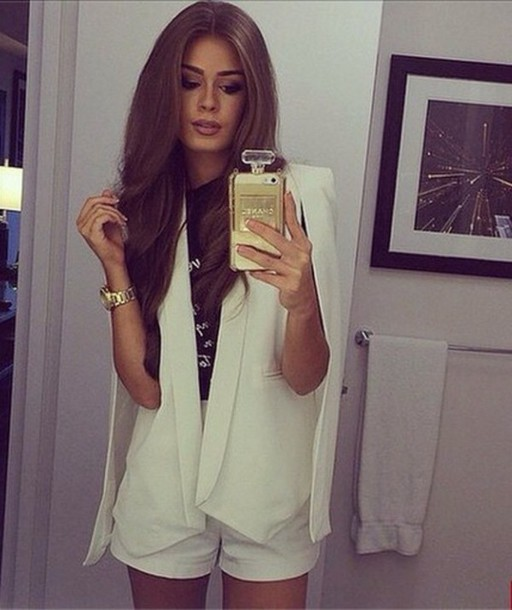 jacket white suit