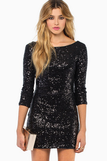 See Me Sequin Bodycon Dress - TOBI
