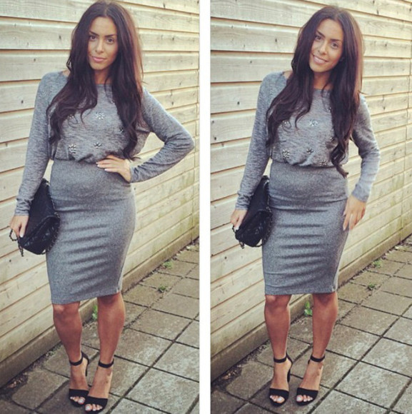 grey dress must have love it
