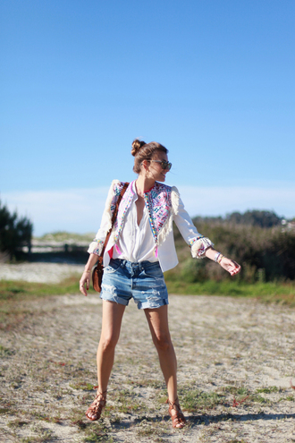 b a r t a b a c blogger jacket shirt shorts bag shoes sunglasses jewels