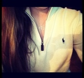 sweater,pullover,white,polo shirt,ralph lauren