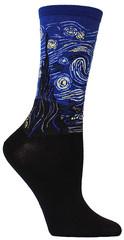 Starry night socks