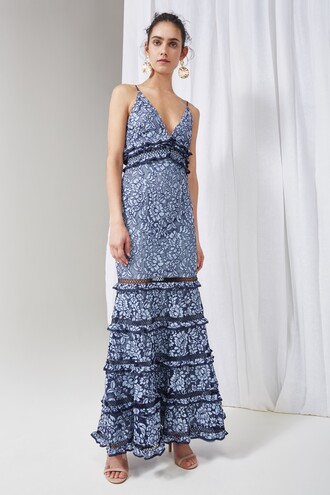 gown lace dress