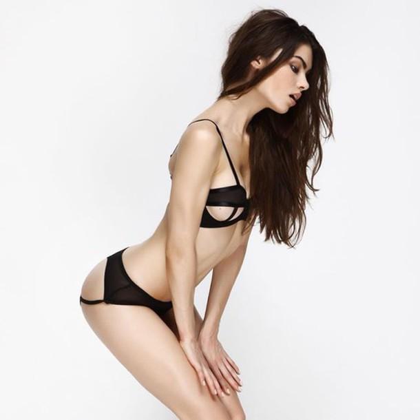 82e56e49c5a underwear lingerie outfit bra black sexy style fashion clothes lingerie set cute  pretty girly girl women