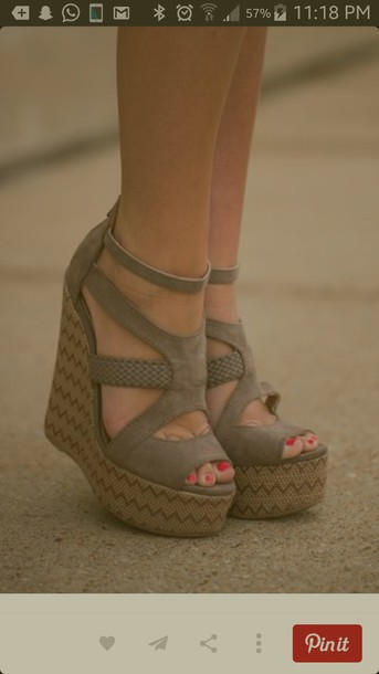 shoes tan wedges shoes cute sandals peep toe ankle strap summer shoes wedges sandals strappy heels strappy wedges