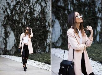 mexiquer blogger sunglasses jacket jewels top jeans