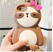 phone cover,iphone cover,sloth,iphone,cute