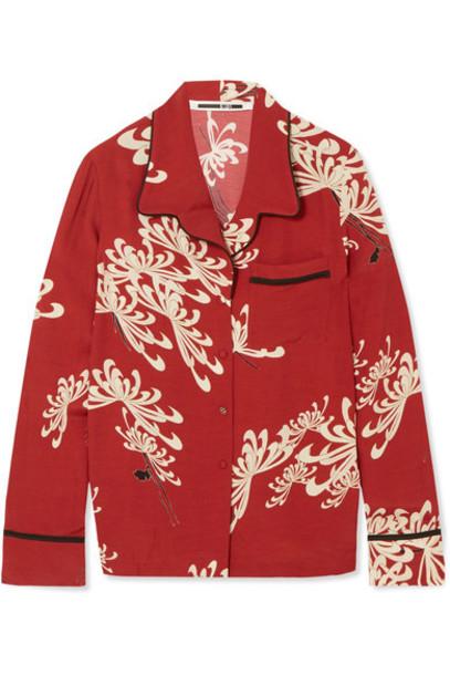 McQ Alexander McQueen shirt red top