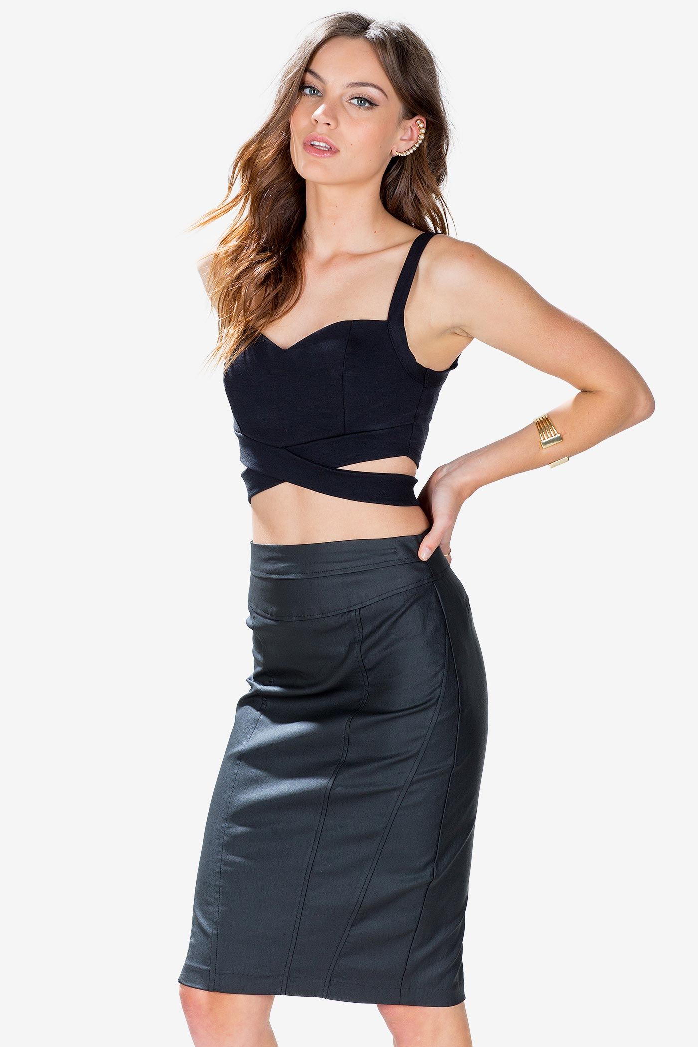 Women's Crop Tops | Chelsea Crop Top | A'GACI