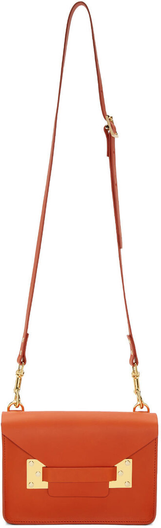 mini bag crossbody bag orange