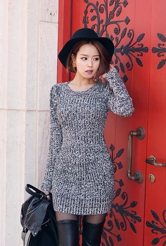 grey dress gray dress gray style bodycon dress