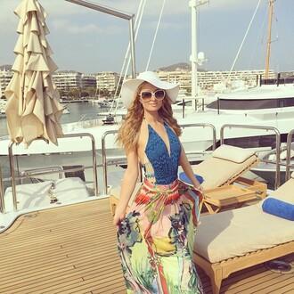 swimwear one piece swimsuit one piece summer instagram summer outfits paris hilton hat