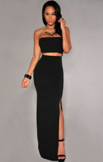 dress black dress beautiful shopping