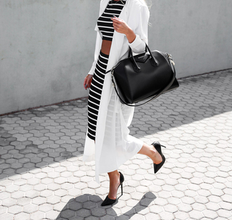 dress preppy striped dress striped shirt picture from we heart it we heart it top blouse