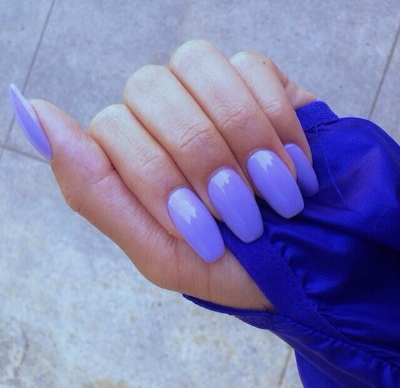 nail polish nails nail nail polish, makeup purple baby baby purple light color light color nails light color nail polish acrylic acrylic nails