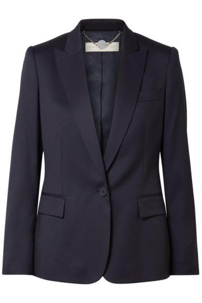Stella McCartney blazer navy wool jacket