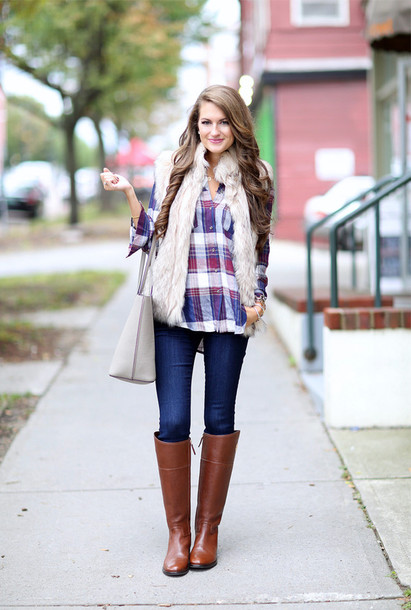 1a8f671f3 southern curls and pearls, blogger, shirt, jacket, jeans, bag ...